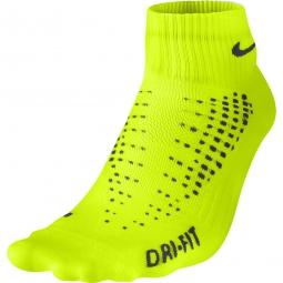 nike chaussettes anti ampoule lightweight jaune