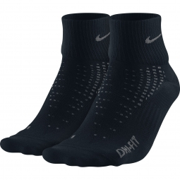 nike chaussettes anti ampoule lightweight noir 2 paires