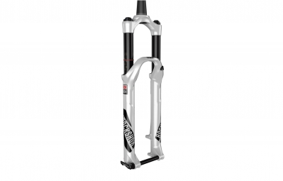 rockshox 2017 fourche pike rct3 26 axe 15 mm dual position conique blanc