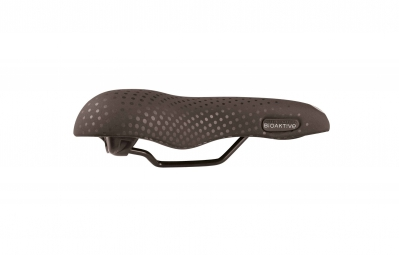bioaktive selle large gel recreational noir suede