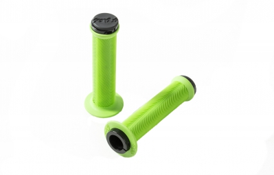 odi grip the sensus poignees swayze lock on neon green