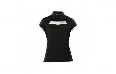 troy lee designs maillot manches courtes femme ace noir