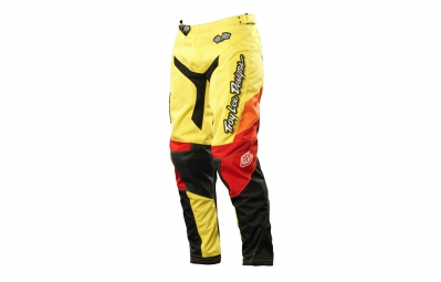 troy lee designs pantalon gp airway femme jaune