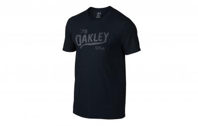 oakley tee shirt legs reverse bleu fonce