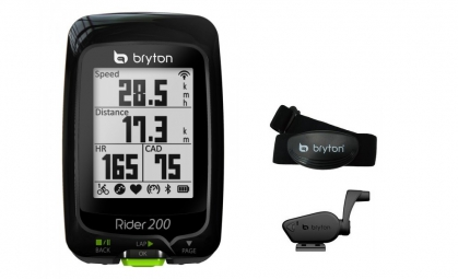 bryton compteur gps rider 200t