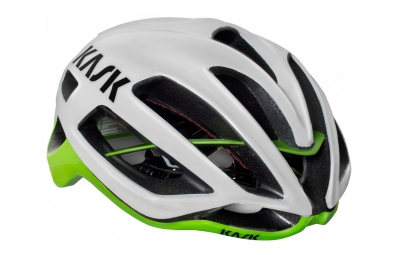 casque kask protone blanc vert