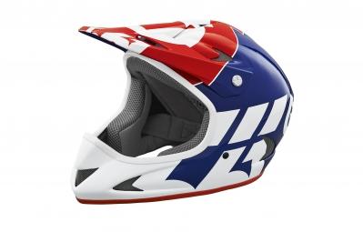 casque integral 661 sixsixone rage bleu blanc rouge