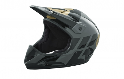 casque integral 661 sixsixone rage noir or