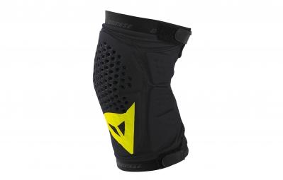 dainese paire de genouilleres trail skins noir jaune
