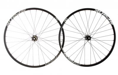 spank paire de roues 27 5 oozy trail 260 15mm 12x142mm noir