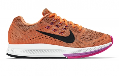nike air zoom structure 18 orange femme