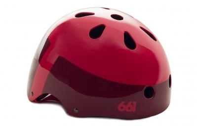 casque bol 661 sixsixone dirt lid rouge taille unique