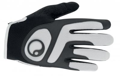 ergon paire de gants vtt hx2 noir blanc