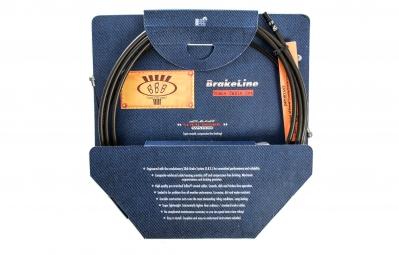 bbb kit cablerie de frein brakeline noir bcb 02