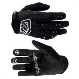 troy lee designs paire de gants longs ace femme noir