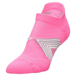 nike chaussettes running dri fit cushioning rose