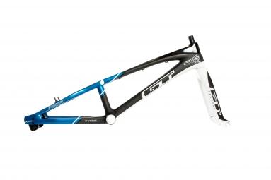 gt kit cadre et fourche speed series carbone bleu noir
