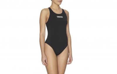 arena maillot de bain powerskin st dos ouvert noir femme