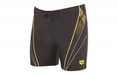 arena maillot de bain homme wheelie jammer gris jaune