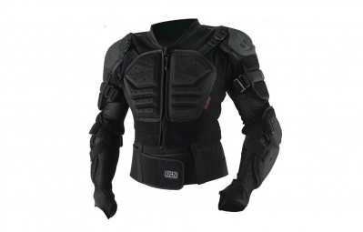 ixs gilet de protection assault jacket noir