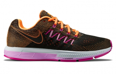 nike air zoom vomero 10 noir orange rose femme