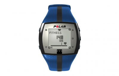 polar montre cardio ft7 bleu noir