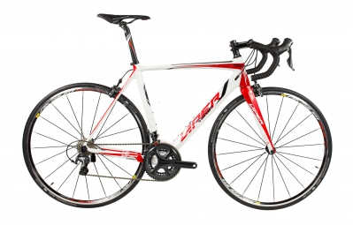viper velo complet puy de dome carbone shimano ultegra compact 11v blanc rouge