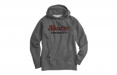 shadow sweat a capuche ensign gris