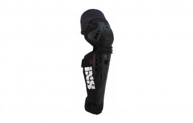 ixs genouilleres avec protege tibia assault series noir
