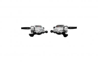 shimano paire de leviers commandes rapid fire plus alivio t4000 3x9 v silver