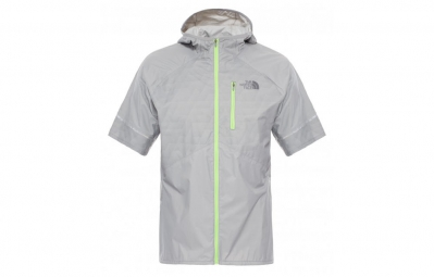 the north face veste ultra lite gris homme