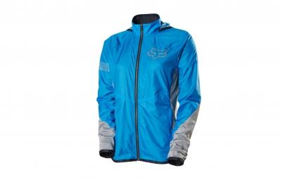 fox veste coupe vent femme diffuse jacket bleu