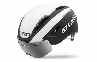 casque giro air attack shield noir blanc