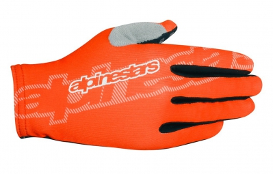 alpinestars paire de gants f lite orange