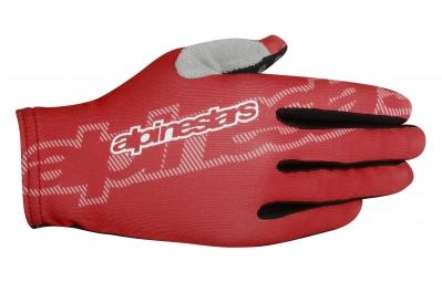 alpinestars paire de gants f lite rouge