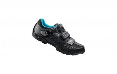 chaussures vtt femme shimano wm64 2016 noir