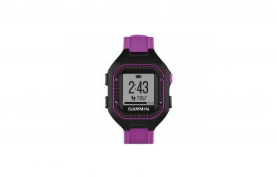 garmin montre gps forerunner 25 noir violet