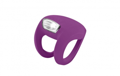 knog lampe avant frog strobe grape