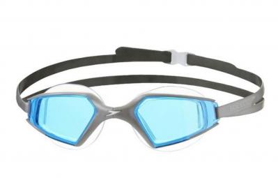 speedo paire de lunettes de natation aquapulse max 2 silver blue