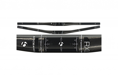 bontrager cintre vtt race x lite flat 720mm 9 carbone