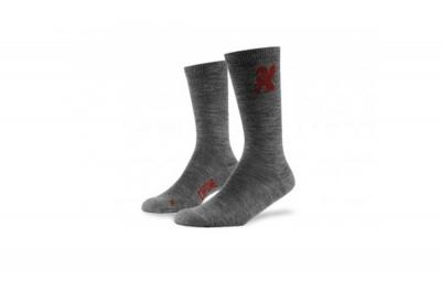 chrome chaussettes crew gris