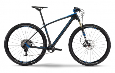 haibike 2016 velo complet 29 greed 9 60 carbone noir mat bleu