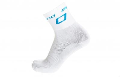isano paire de chaussettes is hi13 blanc bleu