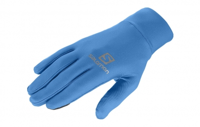 salomon gants active bleu