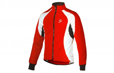 spiuk veste manches longues team rouge blanc
