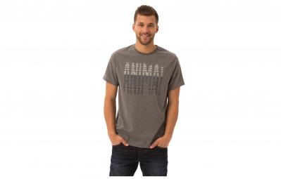 animal t shirt leade gris