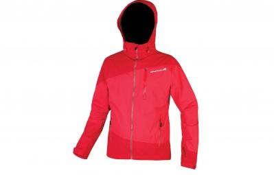 veste impermeable endura singletrack rouge