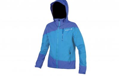 veste impermeable endura singletrack bleu