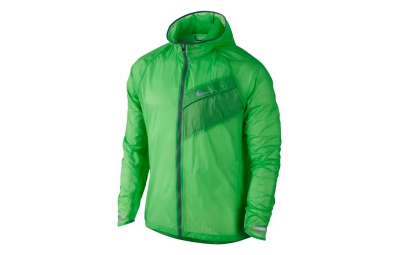 nike veste impossibly light vert homme