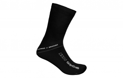gripgrab chaussettes windproof socks noir